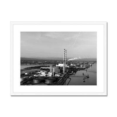 Poolbeg Towers B&W