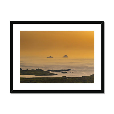 Skellig Islands Sunset - Stunning Ireland