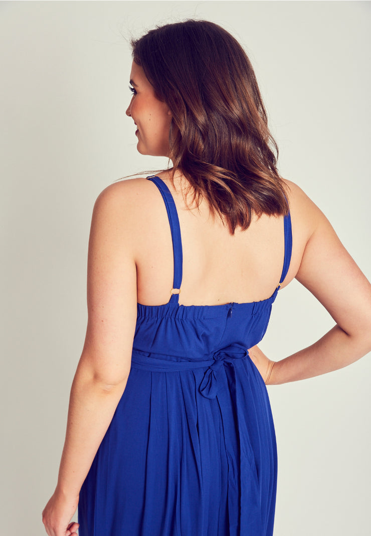Plus size summer dress for big boobs