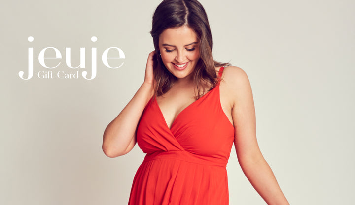 Gift of Giving with a Jeuje Clothing Gift Card