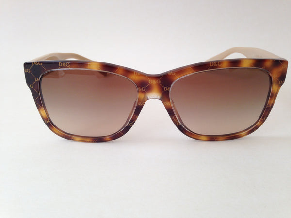 8289401a3ab0 ... Dolce Gabbana Womens Square Sunglasses D&g Havana Brown Logo Mens  Dg4158P - Sunglasses ...