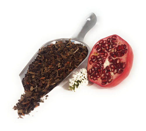 White Pomegranate Loose White Tea