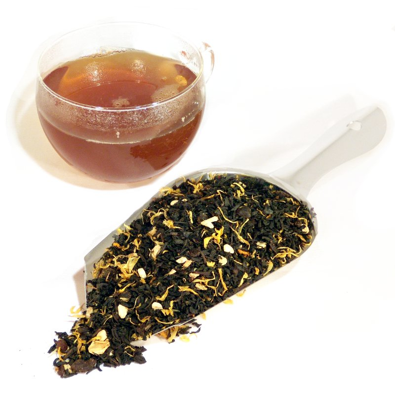 Ginger Peach Honey Loose Black Tea