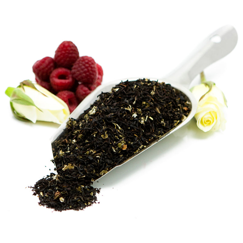 Raspberry Cream Rhapsody Loose Black Tea