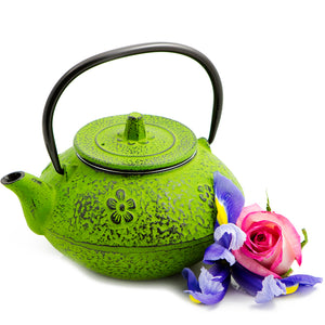 Greener Pastures Cast Iron Teapot