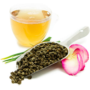Jasmine Pearls Organic Loose Green Tea