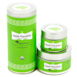 Apple Pearadise Loose Green Tea