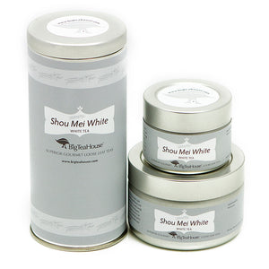 Shou Mei White Loose Tea