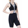Beroy women cycling bib shorts - Black