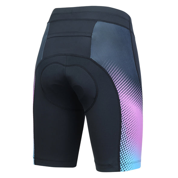 Womens 3D Padded Bike Shorts