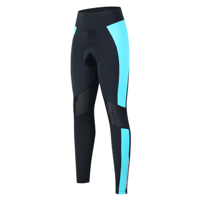 Womens Cycling Tights with 3D Chamois - Blue
