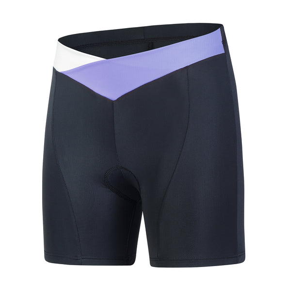 Beroy women cycling bib shorts - Purple