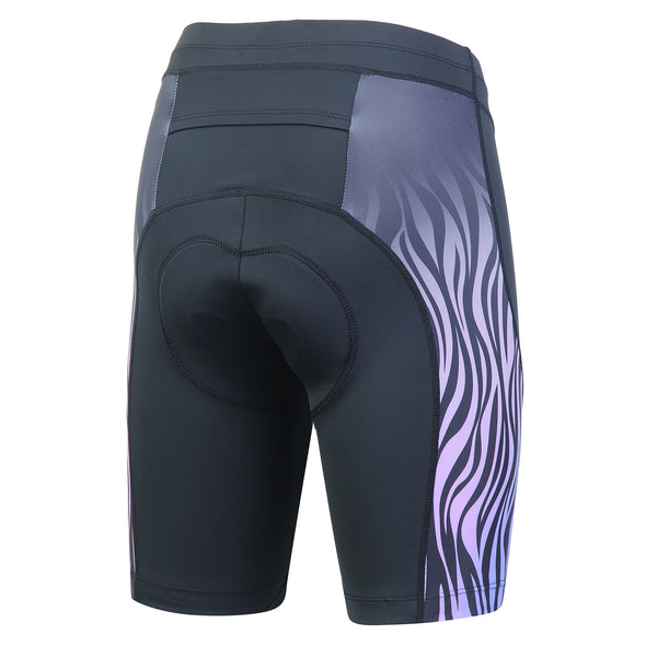 Beroy women cycling shorts - stripe