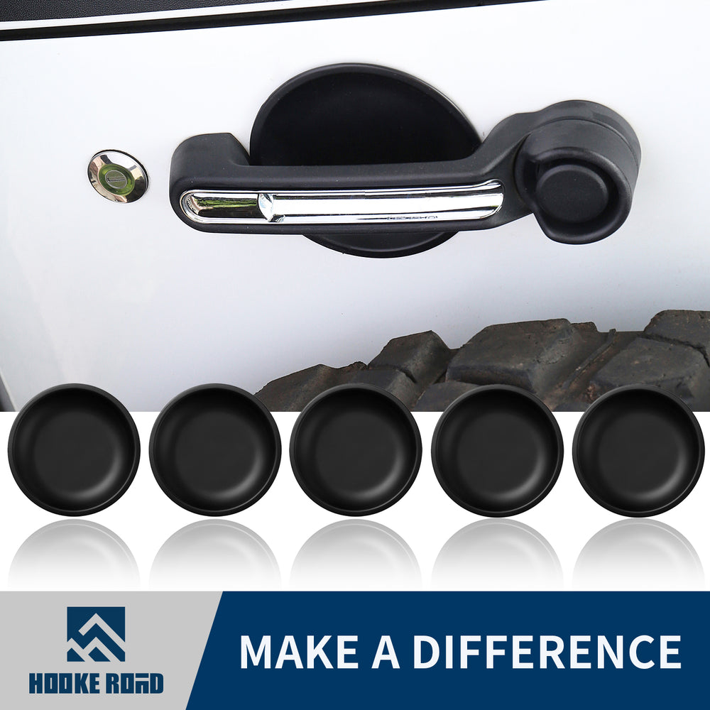 Hooke Road Opar Door Handle Recess Guard for Jeep JK Wrangler u-Box 1