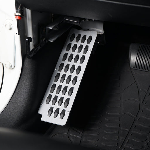 Hooke Road Opar Dead Pedal Left Side Foot Rest Kick Panel for Jeep Wrangler u-Box 3