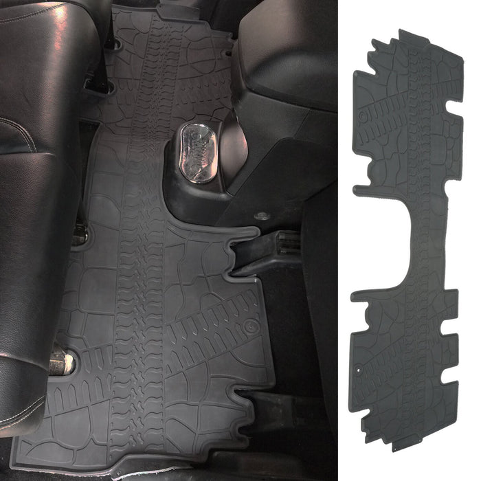Hooke Road Opar All Weather Front & Rear Floor Mats for 2011-2018 Jeep u-Box 4
