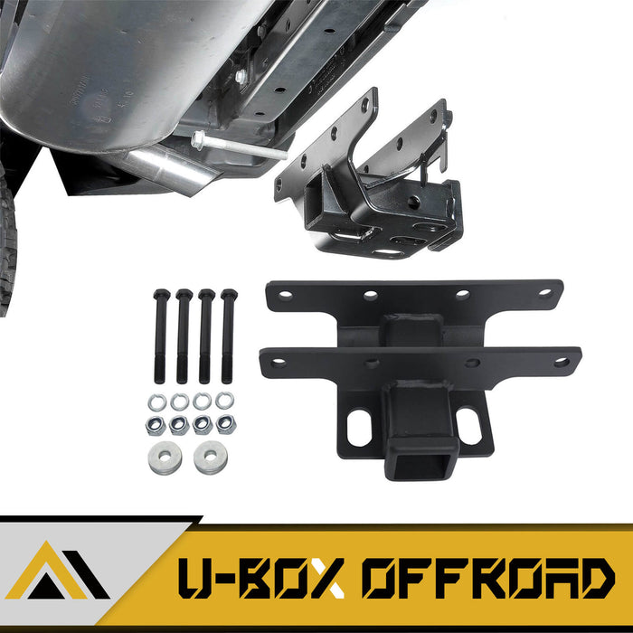 "2"" Steel Towing Rear Trailer Receiver Hitch(07-18 Jeep Wrangler JK JKU)"