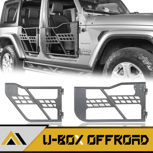 Door Tubular Door Guards Rock Crawler(18-21 Jeep Wrangler JL & 20-21 Jeep Gladiator JT)