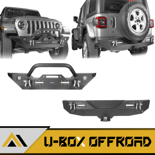 Different Trail Front & Rear Bumper Combo(18-21 Jeep Wrangler JL)