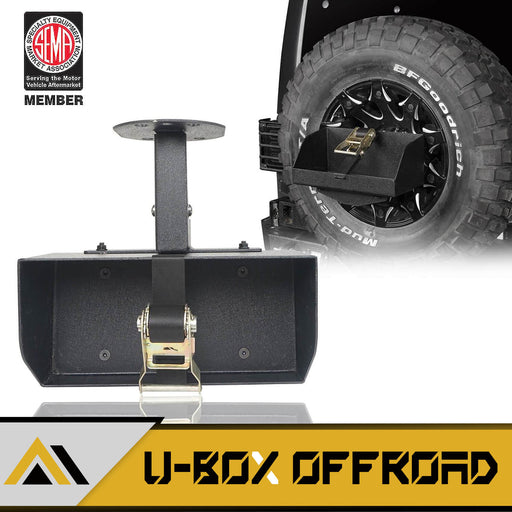 Jeep Jerry Can Holder Spare Tire Mounting Bracket(97-19 Jeep Wrangler JK TJ JL)