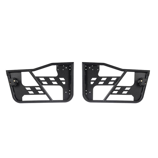 Hooke Road Opar Rock Crawler Tubular Door Guards for 1997-2006 Jeep Wrangler TJ u-Box 2