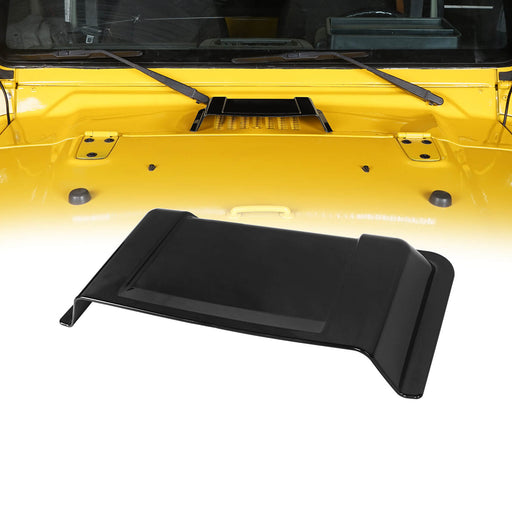 Hooke Road Opar Black Cowl Vent Hood Scoop for 1998-2018 Jeep Wrangler TJ JK & Unlimited MMR1168NW u-Box offroad 1