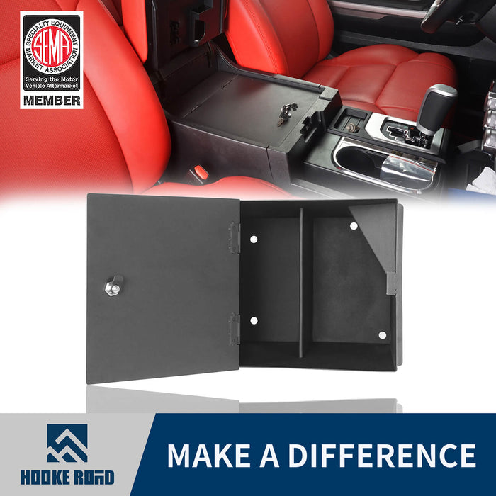 Hooke Road® Center Console Lock Vault(14-20 Toyota Tundra)