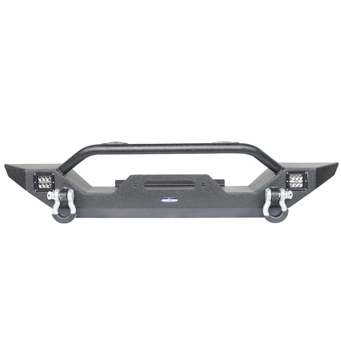 Hooke Road Different Trail Front Bumper and Rear Bumper Combo for Jeep Wrangler YJ TJ 1987-2006 BXG120149 Jeep TJ Front and Rear Bumper Combo u-Box Offroad 7