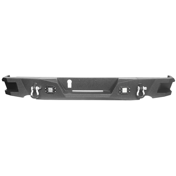 Dodge Ram Full Width Front Bumper & Rear Bumper(13-18 Dodge Ram 1500, Excluding Rebel)
