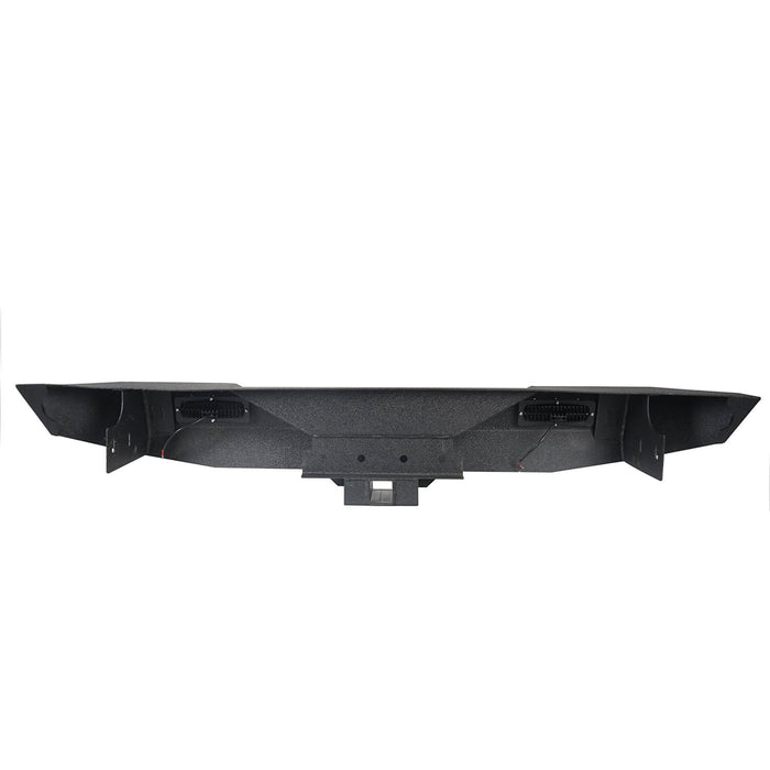 Different Trail Rear Bumper w/Hitch Receiver(07-18 Jeep Wrangler JK)