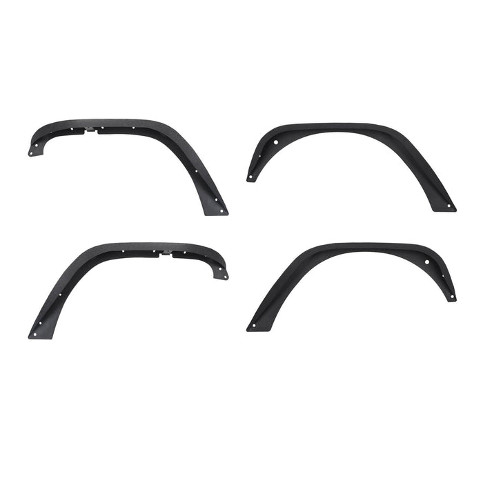 Hooke Road Jeep Wrangler JK Front And Rear Fender Flares for Jeep Wrangler JK 2007-2018 BXG134 u-Box offroad 5