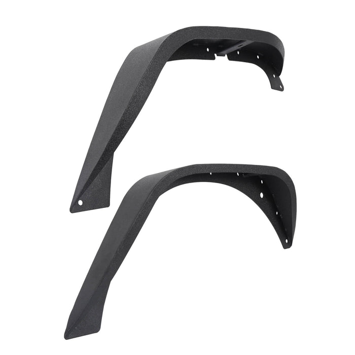 Hooke Road Jeep Wrangler JK Front And Rear Fender Flares for Jeep Wrangler JK 2007-2018 BXG134 u-Box offroad 7