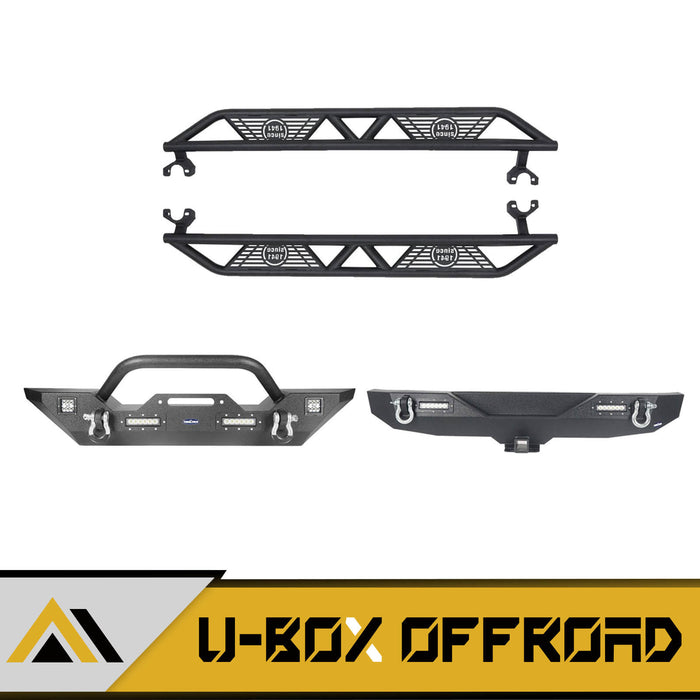 Front Bumper / Rear Bumper / Side Steps(07-18 Jeep Wrangler JK)
