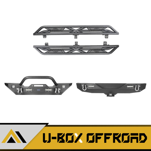 Front Bumper / Rear Bumper / Side Steps(18-21 Jeep Wrangler JL)