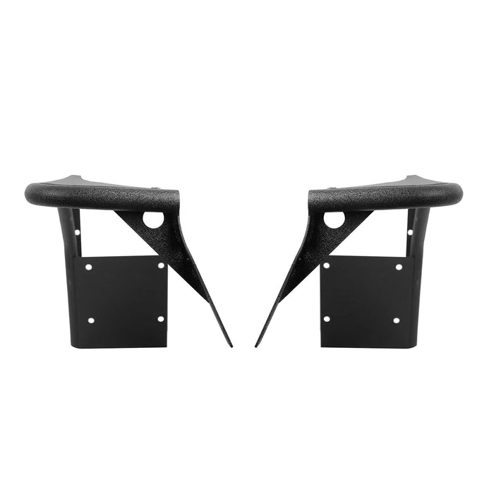 Hooke Road Opar Front Flat Fender Flares Armor Wheel for 1997-2006 Jeep Wrangler TJ 2 PCS BXG058 u-Box Offroad 11