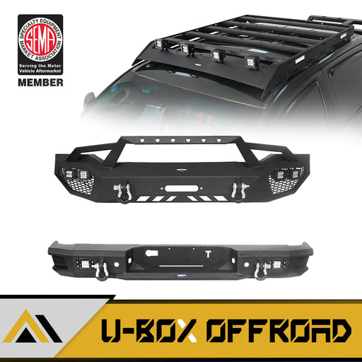 Full Width Front Bumper / Rear Bumper / Roof Rack(07-13 Toyota Tundra Crewmax)