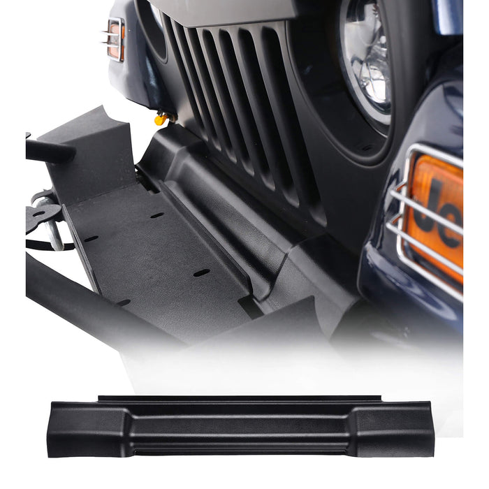 Hooke Road Gap Plug ABS Textured Black Front Grille Protects Frame Cover(97-06 Jeep Wrangler TJ)