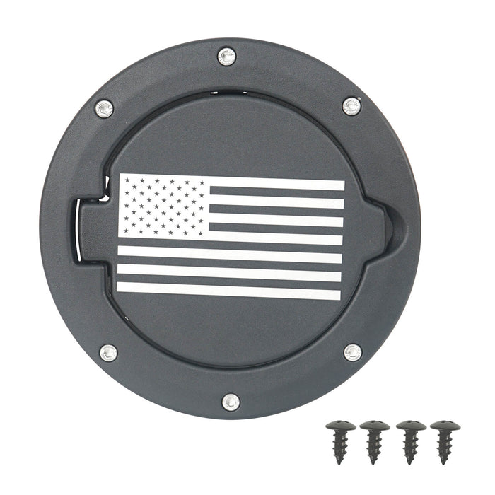 Hooke Road Jeep TJ Gas Cap Fuel Tank Cover for 1997-2006 Jeep Wrangler TJ Jeep TJ Parts MMR2002 u-Box offroad 7