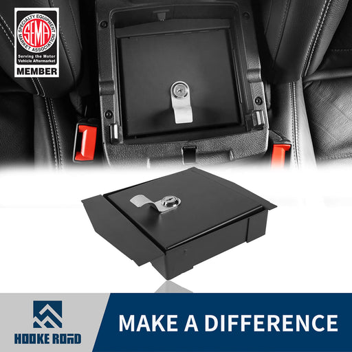 Hooke Road bestop Interior Console Lock Box for Jeep Wrangler JL 2018-2019 MMR1812 Jeep JL Accessories 1