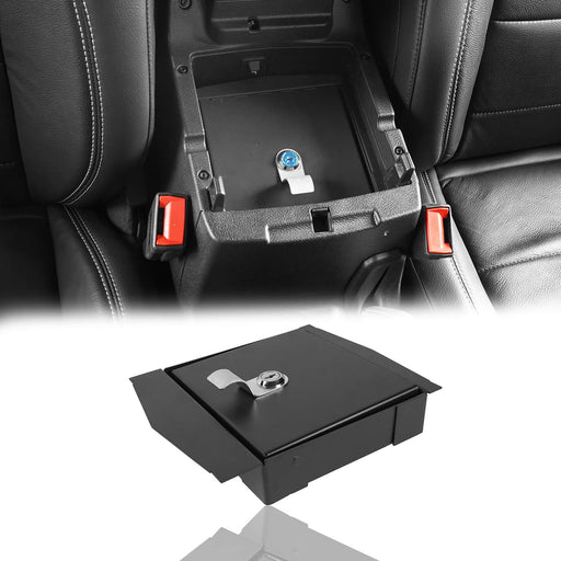 Hooke Road bestop Interior Console Lock Box for Jeep Wrangler JL 2018-2019 MMR1812 Jeep JL Accessories 2