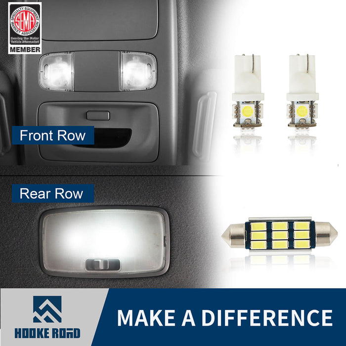 Hooke Road® Interior LED Light Bulbs(05-15 Toyota Tacoma Gen 2)