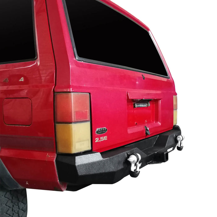 Hooke Road Destroyer Rear Bumper w/2 ×18W LED Floodlights for Jeep Cherokee XJ 1984-2001 BXG321 u-Box Offroad 6