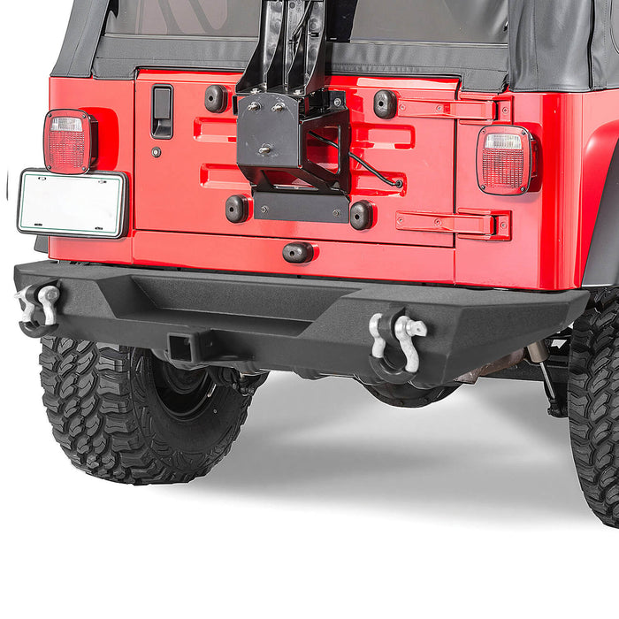 Hooke Road® Rear Bumper Back Bumper(76-86 Jeep Wrangler CJ)