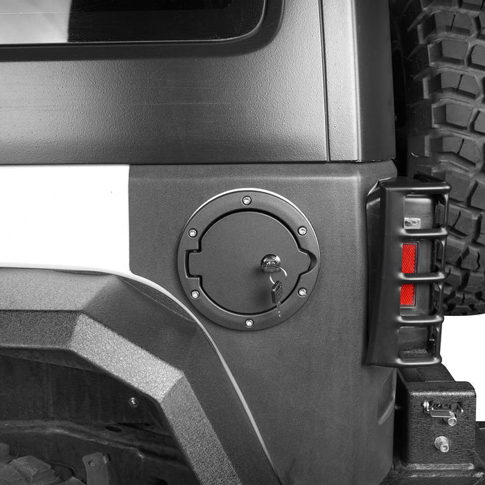Hooke Road Jeep JK Gas Tank Gas Cap with Lock and Key for Jeep Wrangler JK 2007-2018 MMR1784 u-Box Offroad 3