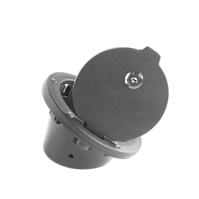 Hooke Road Jeep JK Gas Tank Gas Cap with Lock and Key for Jeep Wrangler JK 2007-2018 MMR1784 u-Box Offroad 7