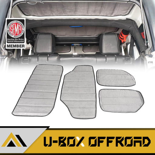 HardTop Sound Deadener Headliner Insulation Kit(11-18 Jeep Wrangler JK 4-Door)