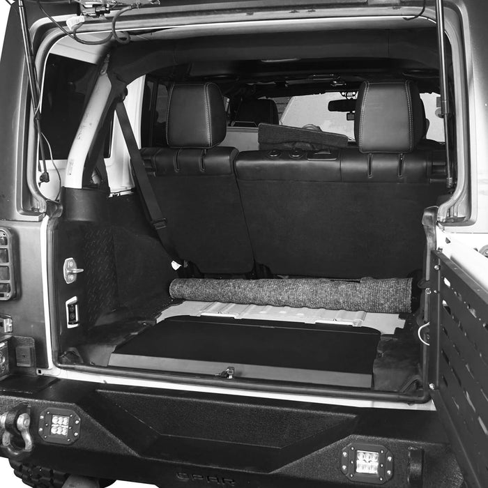 Hooke Road® Locking Cubby Cover(11-18 Jeep Wrangler JK 4 Doors)