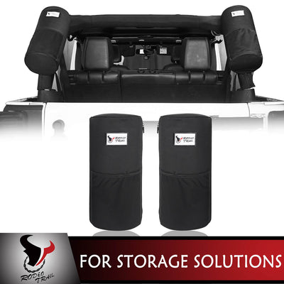 Rodeo Trail Roll Bar Mount Storage Bag(07-20 Jeep Wrangler JK JL)