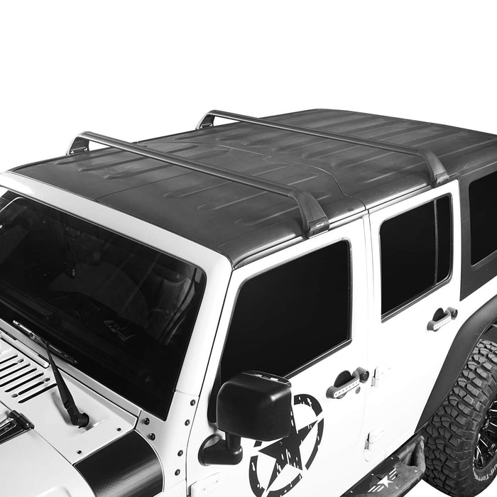 Hooke Road Jeep JK Roof Rack Cross Bars Side Rail Roof Rack for Jeep Wrangler JK 2007-2018 MMR1792 Jeep JK Accessories Jeep Wrangler Parts u-Box Offroad 3