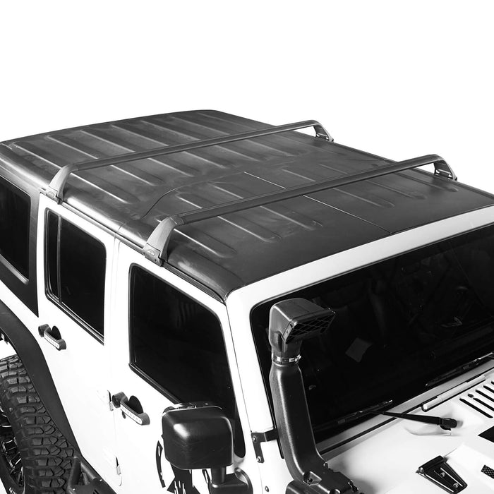 Hooke Road Jeep JK Roof Rack Cross Bars Side Rail Roof Rack for Jeep Wrangler JK 2007-2018 MMR1792 Jeep JK Accessories Jeep Wrangler Parts u-Box Offroad 4